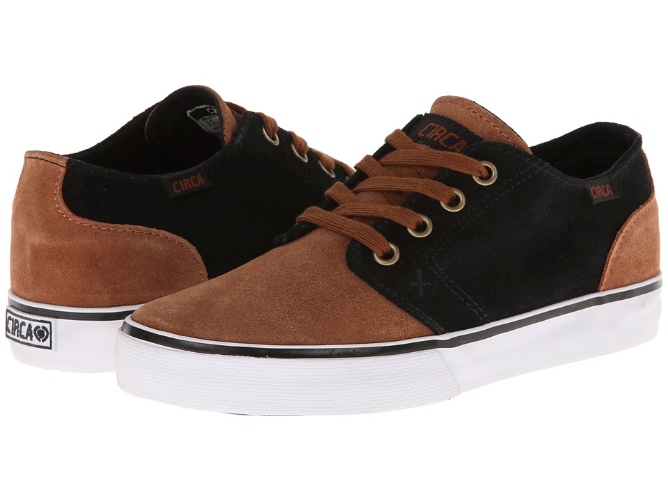 Circa - Drifter (Leather Brown/Black) Men's Skate Shoes