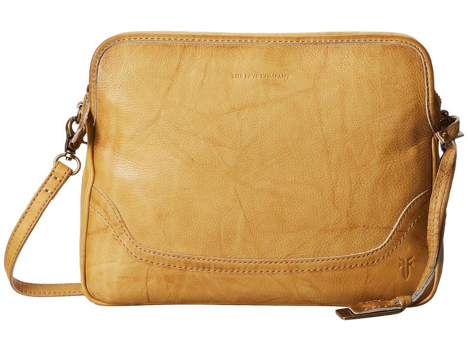 Frye - Campus Crossbody Clutch (Banana Dakota) Clutch Handbags