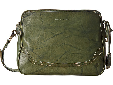 Frye - Campus Crossbody Clutch (Olive Dakota) Clutch Handbags