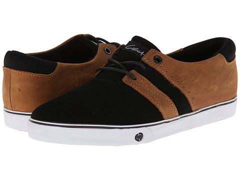 Circa - Rover (Black/Cognac) Men's Skate Shoes