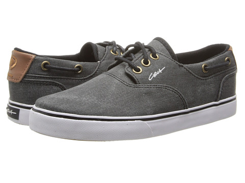 Circa - Valeo (Black Denim) Men's Skate Shoes