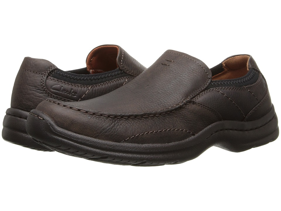 Clarks Niland Energy (Brown Tumbled Leather) Men