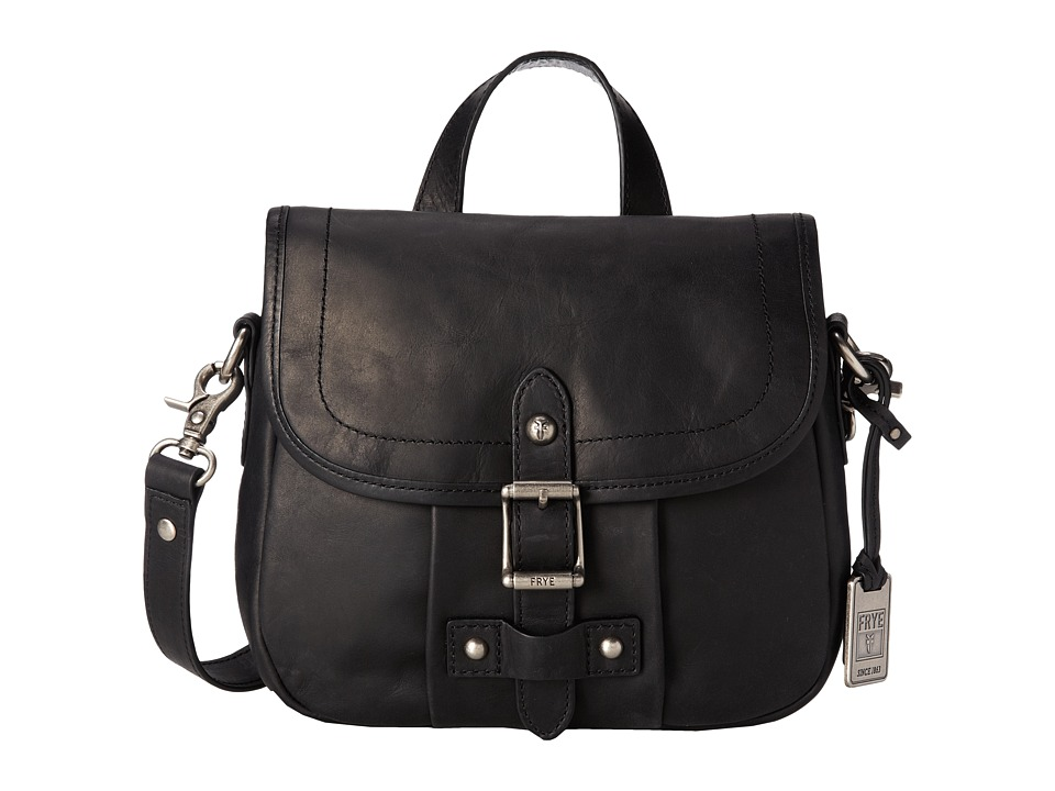 Frye - Parker Crossbody (Black Antique Pull Up) Cross Body Handbags