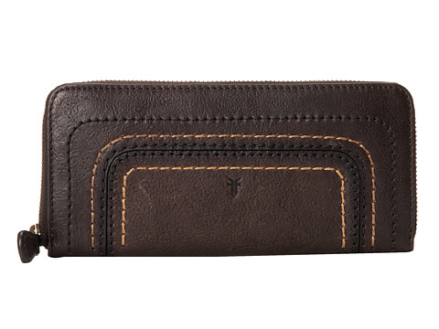 Frye - Anna Wallet (Charcoal Hammered Full Grain) Wallet Handbags