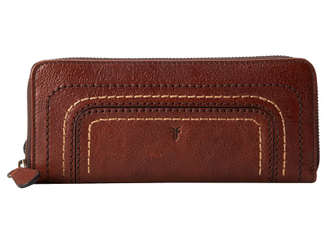 Frye - Anna Wallet (Copper Hammered Full Grain) Wallet Handbags