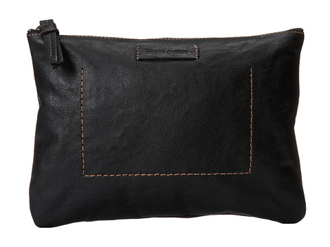 Frye - Artisan Pouch (Black Hammer Full Grain) Handbags