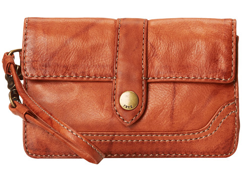 Frye - Campus Wristlet (Saddle Dakota) Wristlet Handbags