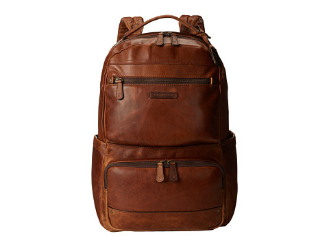 Frye - Logan Backpack Large (Cognac Antique Pull Up) Backpack Bags