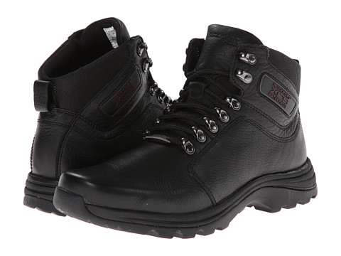 Rockport - Elkhart (Black/Black Mesh) Men's Hiking Boots