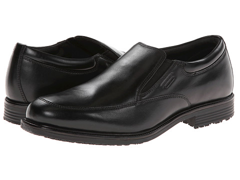 Rockport - LTP Slip-On (Black WP Leather) Men's Shoes
