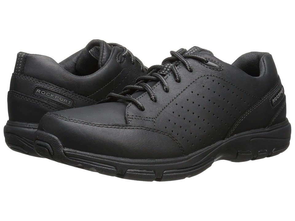 Rockport - Make Your Path Lace to Toe (Black 2) Men's Shoes