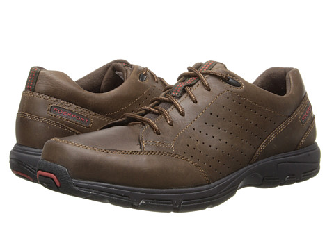Rockport - Make Your Path Lace to Toe (Dark Brown) Men's Shoes