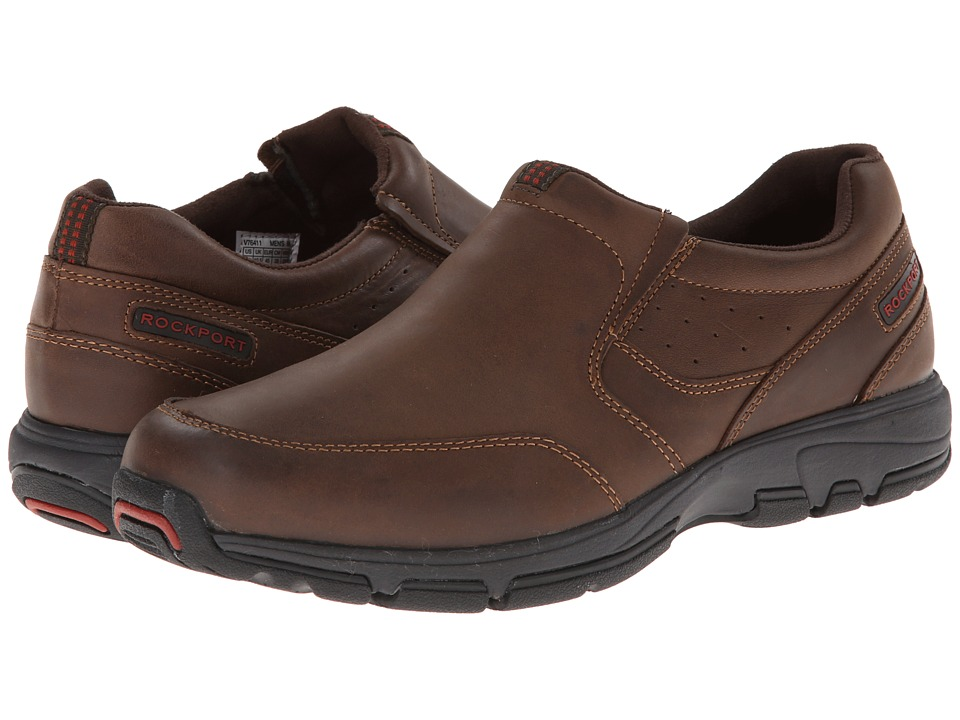 Rockport - Make Your Path Slip-On (Chocolate) Men's Slip on Shoes