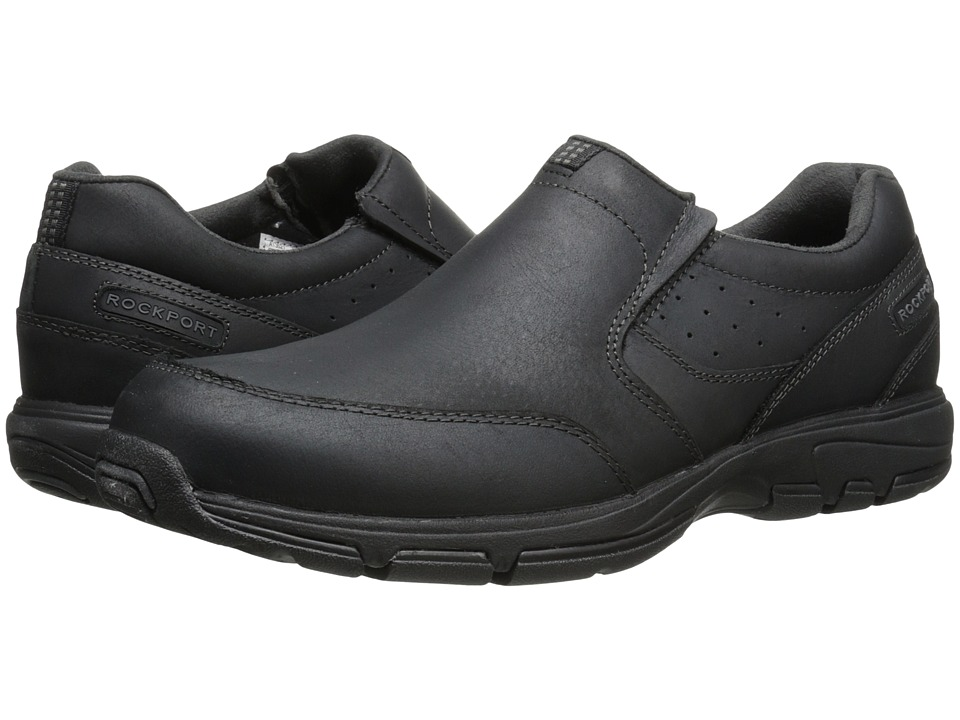 Rockport - Make Your Path Slip-On (Black 2) Men's Slip on Shoes