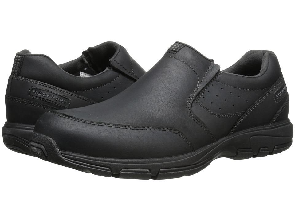 Rockport - Make Your Path Slip-On (Black 2) Men's Slip on Shoes