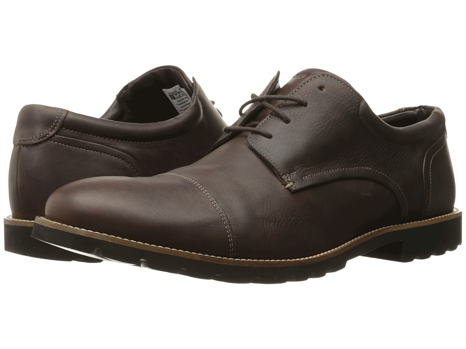 Rockport - Channer (Chocolate Brown) Men's Shoes