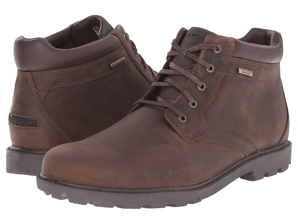 Rockport Storm Surge Water Proof Plain Toe Boot (Tan) Men