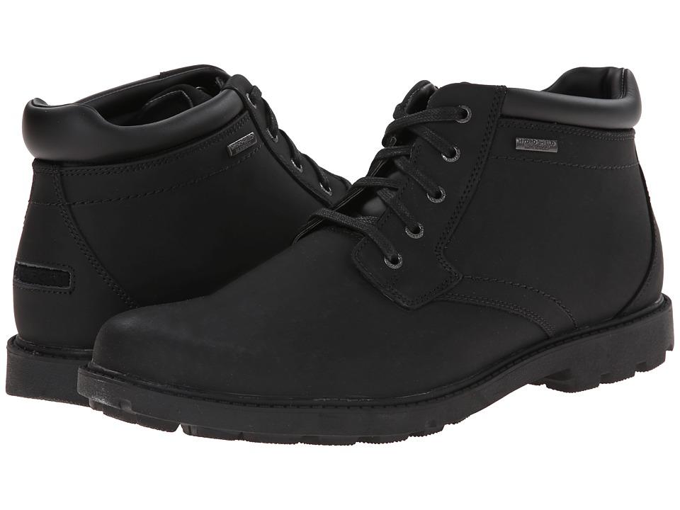 Rockport - Storm Surge Water Proof Plain Toe Boot (Black) Men's Waterproof Boots