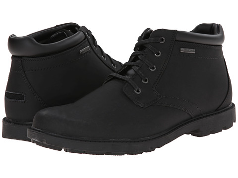 Rockport - Storm Surge Water Proof Plain Toe Boot (Black) Men