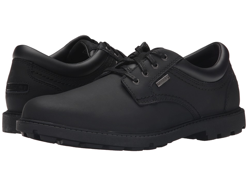 Rockport - Storm Surge Water Proof Plain Toe Oxford (Black) Men's Shoes
