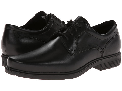 Rockport - ST Plain Toe (Black) Men's Plain Toe Shoes