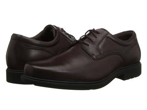 Rockport ST Plain Toe (Brown) Men's Plain Toe Shoes