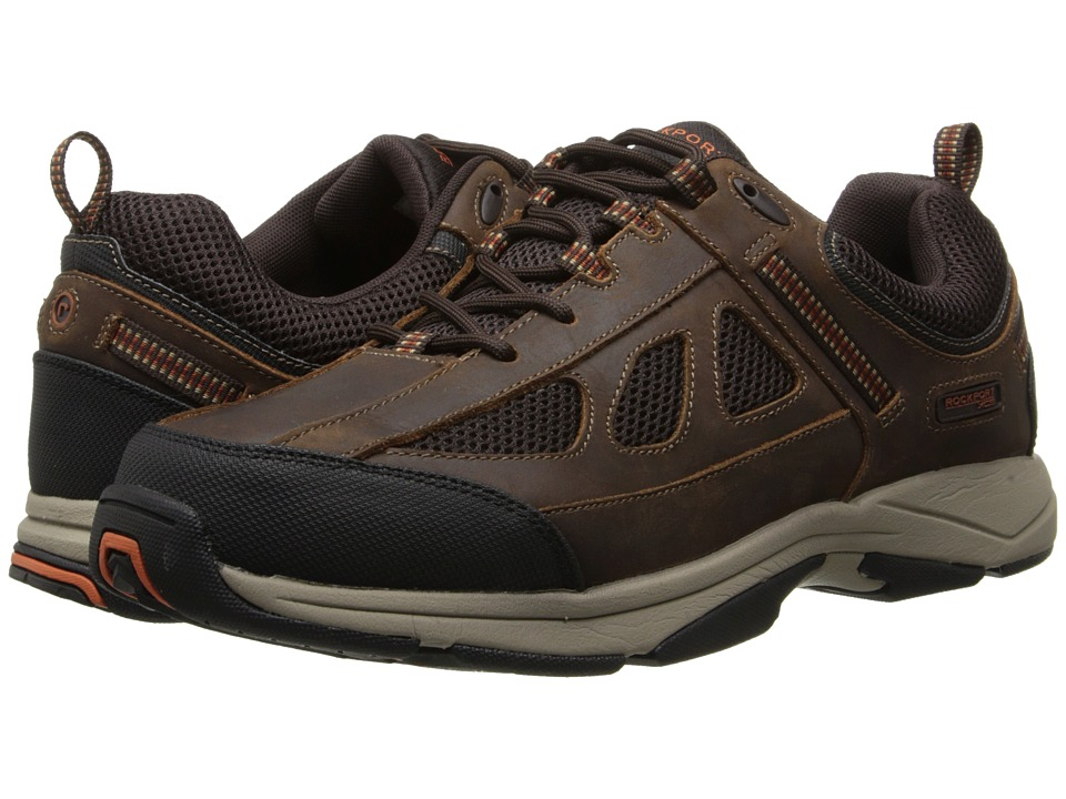 Rockport - Rock Cove (Brown) Men's Lace up casual Shoes