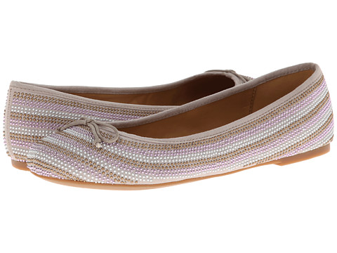 Nine West - Aleksander (Taupe Fabric) Women's Flat Shoes