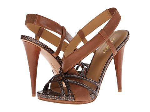 Nine West - Allysse (Light Brown/Natural Leather) High Heels