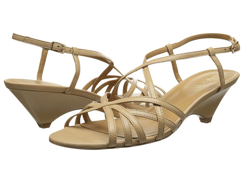 Nine West - Beseech (Natural Leather) Women's 1-2 inch heel Shoes