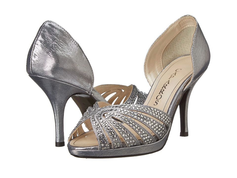 Caparros - Nova (Silver Lame) Women's Shoes