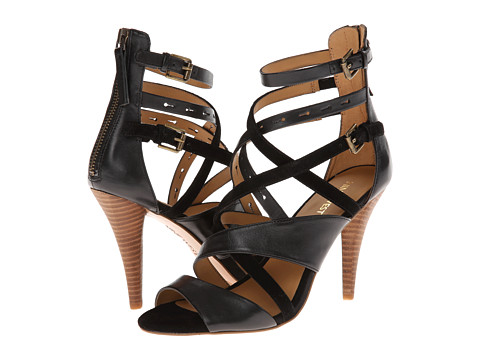 Nine West - Luigi (Black/Black Leather) High Heels