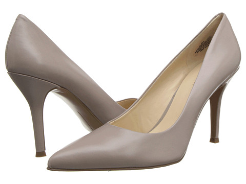 Nine West - Flax (Taupe Leather Leather) High Heels