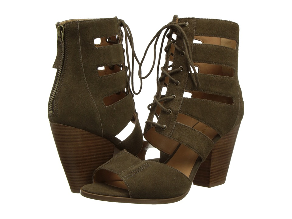 Nine West - Highland (Dark Green Suede) High Heels