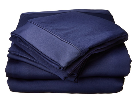 SHEEX - Reversible Sheet Set - Twin/XL (Navy) Sheets Bedding