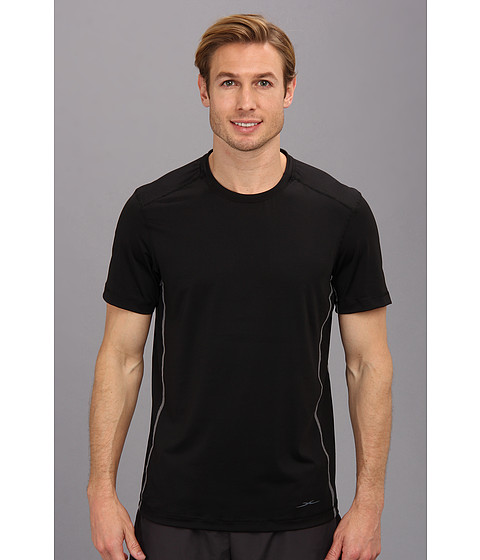 SHEEX - Short Sleeve Tee (Black) Men's Pajama