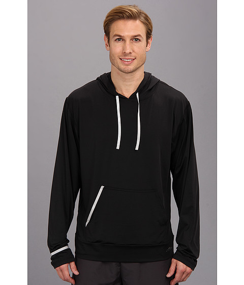 SHEEX - Hoodie (Black) Men's Pajama