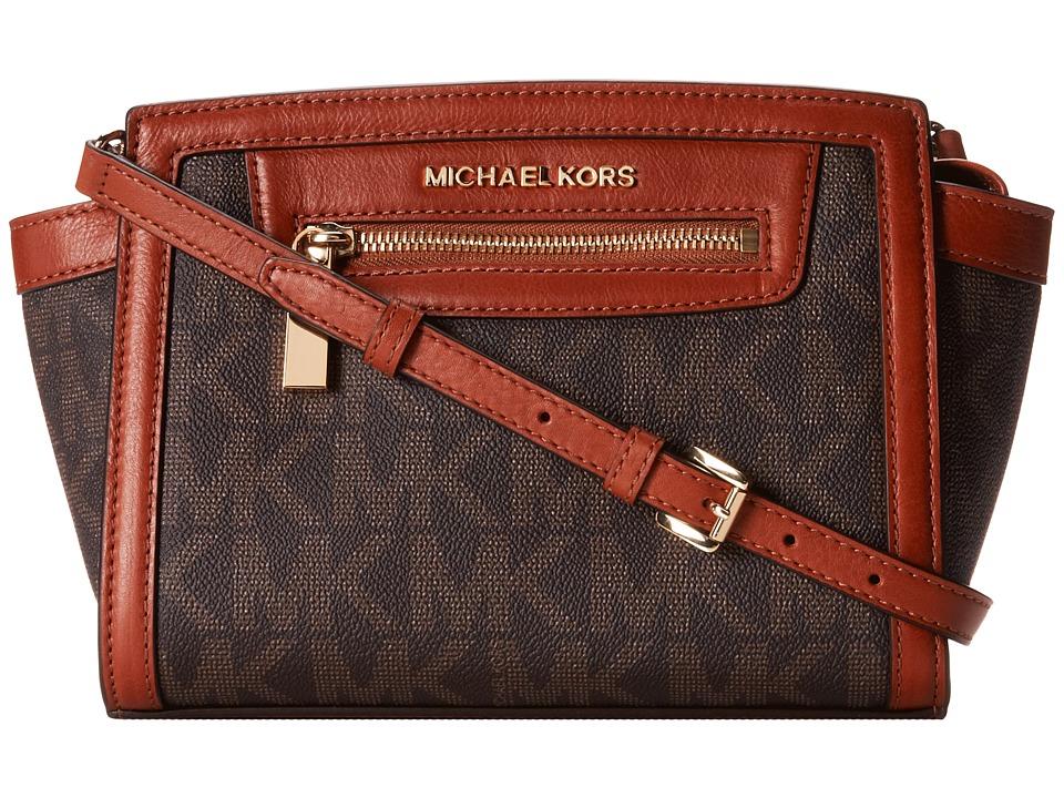 MICHAEL Michael Kors Selma Zip Medium Messenger Cross Body Handbags