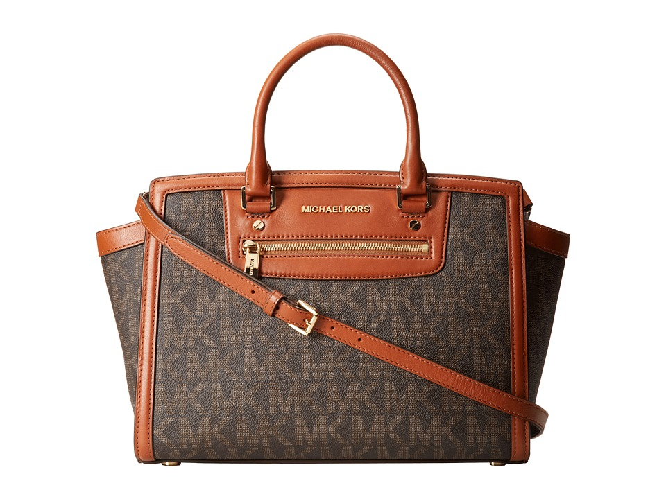 MICHAEL Michael Kors Selma Zip Large Tz Satchel Handbags