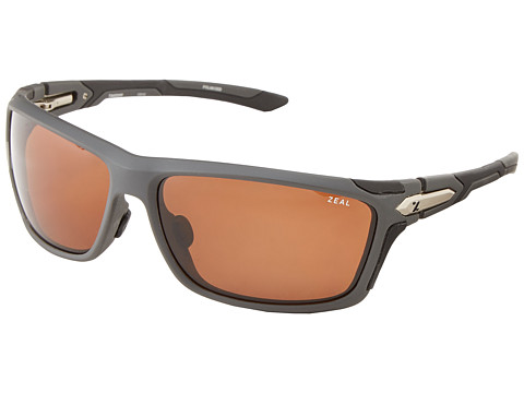 Zeal Optics - Take Off Polarized (Matte Grey w/ Polarized Copper Lens) Goggles
