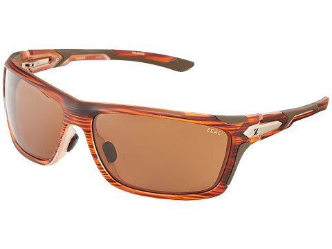 Zeal Optics - Take Off Polarized (Matte Rust Wood Grain w/ Polarized Copper Lens) Goggles