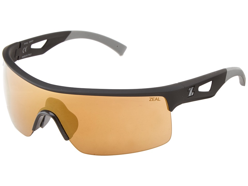 Zeal Optics - Rival (Black w/ Copper + Gold Mirror Lens) Goggles
