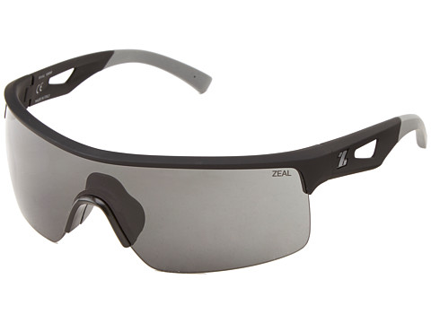Zeal Optics - Rival (Black w/ Dark Grey Lens) Goggles