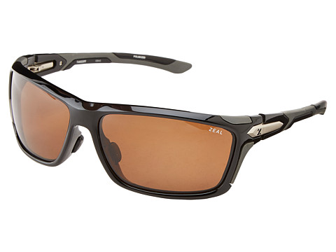 Zeal Optics - Take Off Polarized (Black Gloss w/ Polarized Copper Lens) Goggles