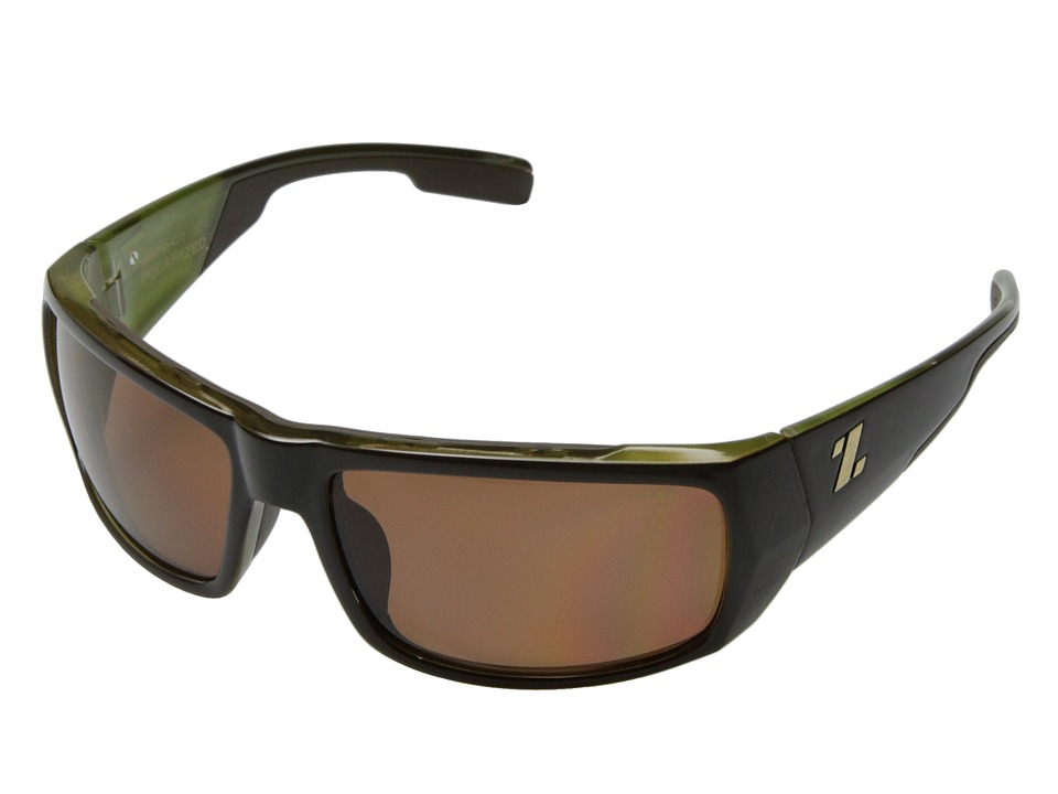 Zeal Optics - Snapshot (Brown + Olive Gloss w/ Polarized Copper Lens) Sport Sunglasses
