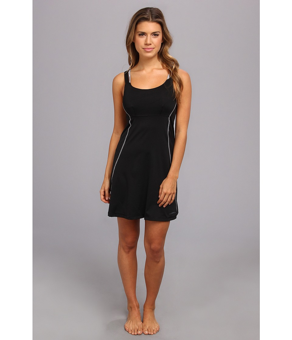 SHEEX - Sleep Dress (Black) Women's Pajama