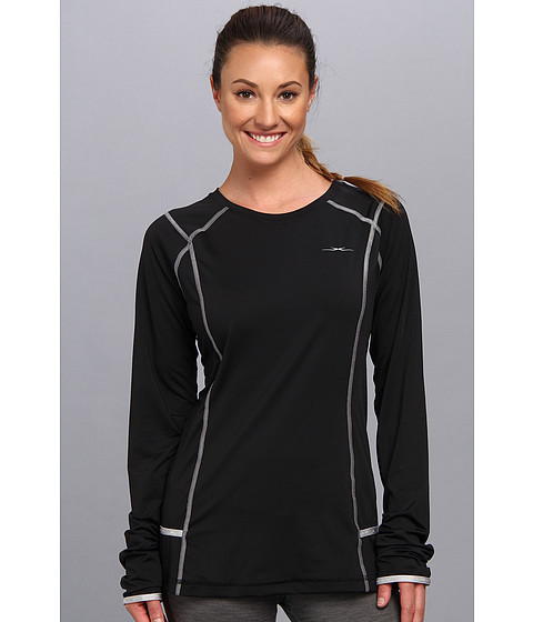 SHEEX - Long Sleeve Tee (Black) Women's Pajama
