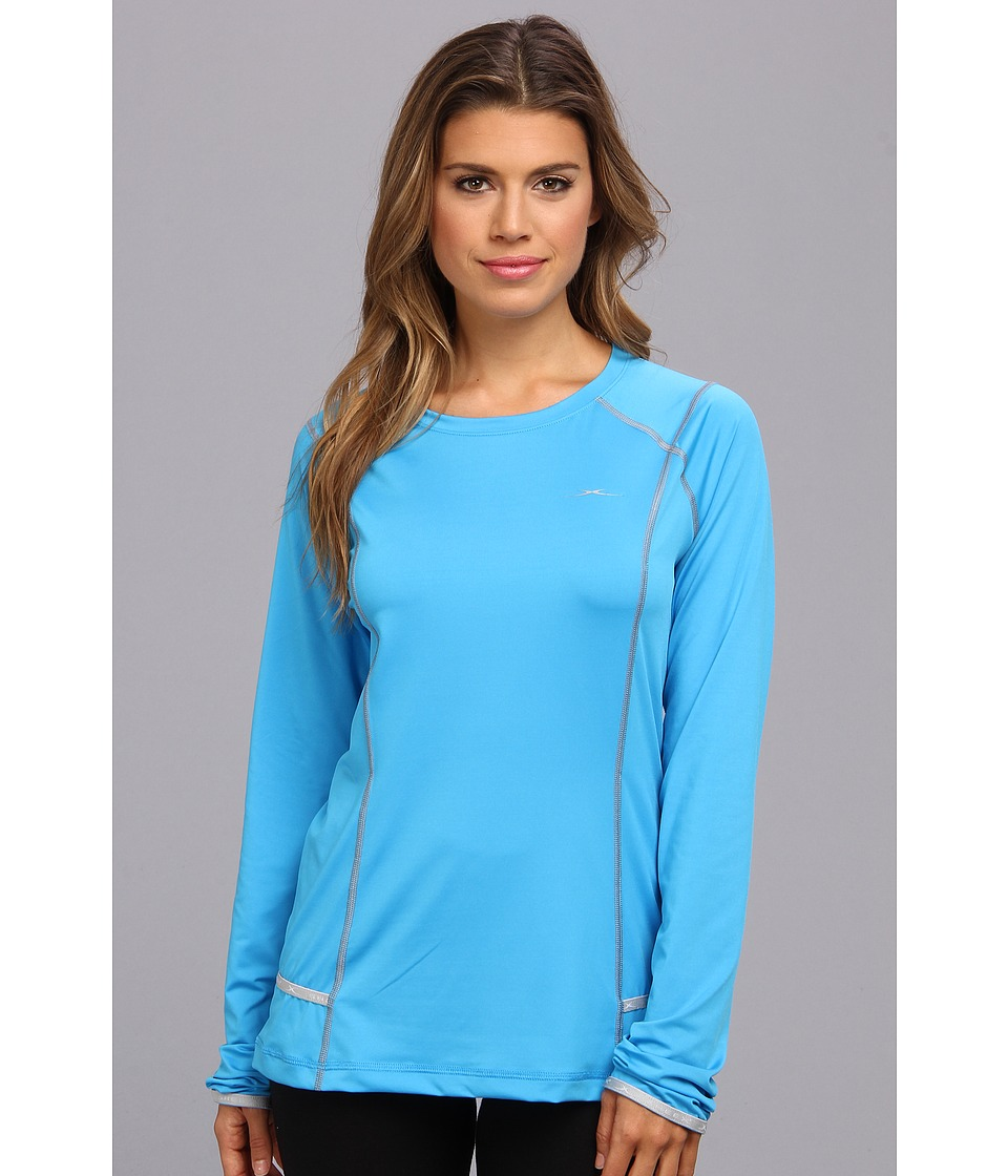 SHEEX - Long Sleeve Tee (Blue Glow) Women's Pajama