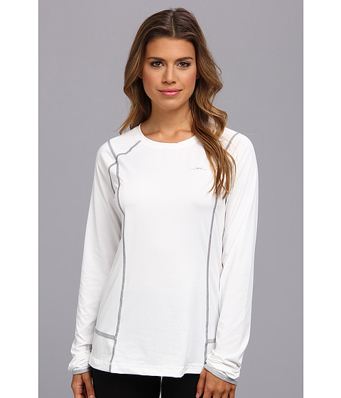 SHEEX - Long Sleeve Tee (White) Women's Pajama