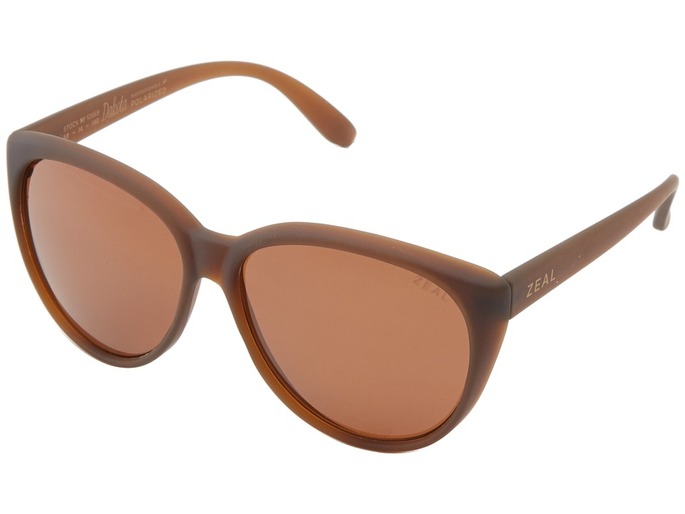 Zeal Optics - Dakota (Bombay Brown w/ Polarized Copper Lens) Goggles